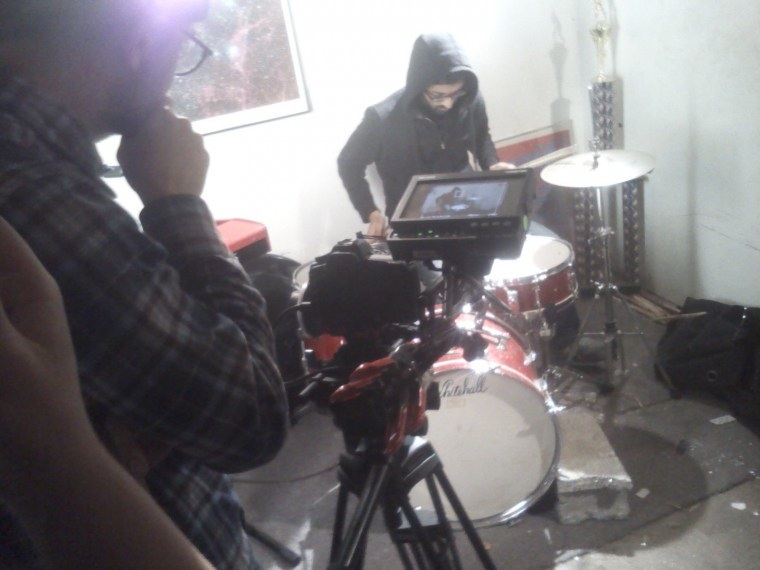 Route Notes video shoot
